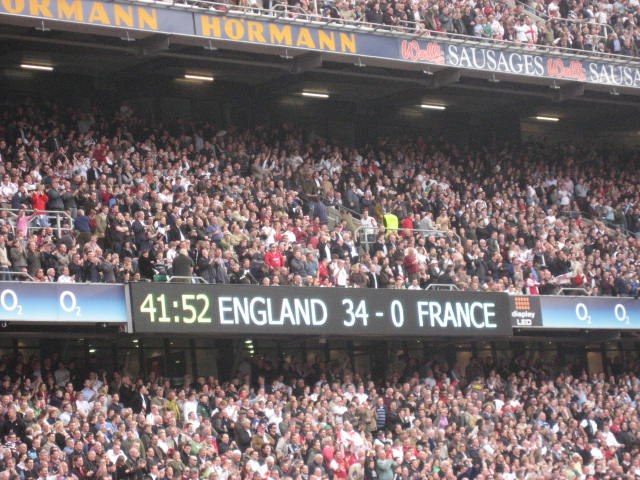England - France - 6 nations 2009