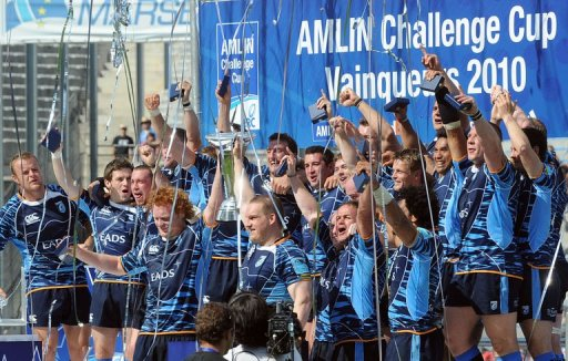 Cardiff remporte la AMLIN Cup 2010 face  Toulon !