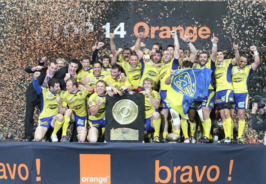 Clermont est le nouveau champion de France de rugby (source photo : asm-rugby)