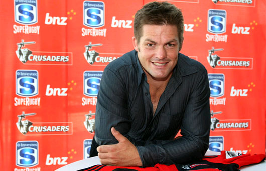 Richie Mccaw, le grand absent des Crusaders