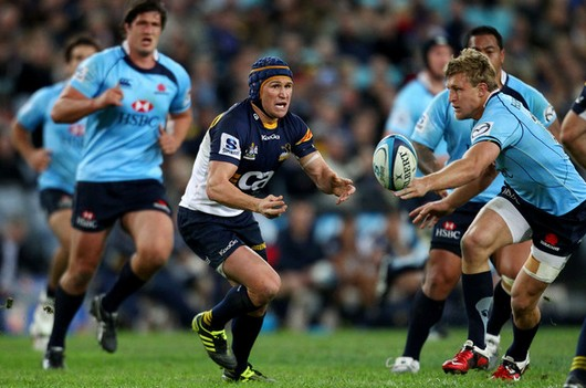 Matt Giteau, des brumbies au RC Toulon