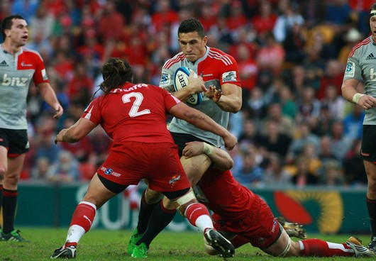 Sonny Bill Williams - Saia Faingaa : un duel au sommet en finale de Super 15
