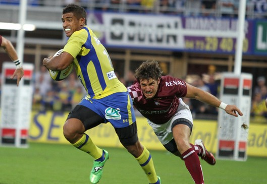 Wesley Fofana va t-il affoler la dfense Biarriote? (Crdit photo : asm-rugby.com)