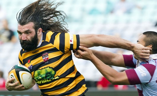 Sébastien Chabal s'engage officiellement avec le LOU