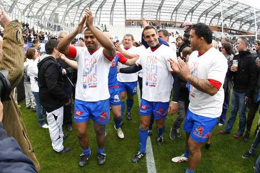Grenoble est sacr champion de France de ProD2 et retrouve le Top 14