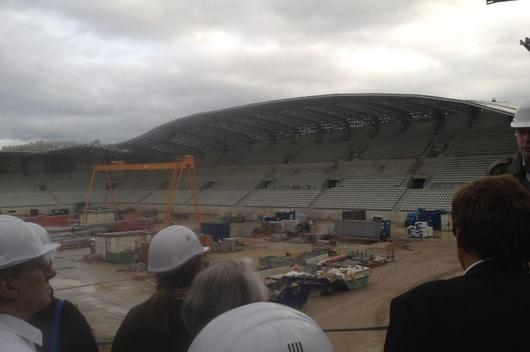 Le nouveau stade Jean Bouin avance de jour en jour
